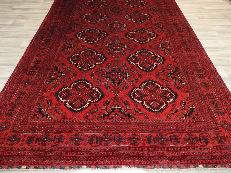 Afghan Hand Knotted Khal Mohammadi Rug Size: 200 x 304cm