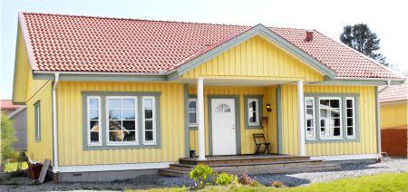 Bygga enplansvilla, 1 plansvilla, 1½ plans villa, två plansvilla & enkelgarage   S:t Anna Hus