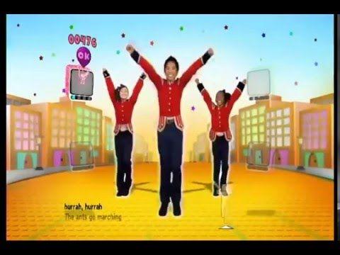 "Just Dance Kids ""Ants Go Marching"" Gameplay - Children Songs & Nursery Rhymes Video - YouTube"