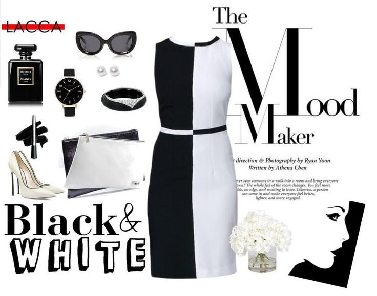 If you want to be in a winning position choose our black & white dress. One move solution for every situation. Checkmate! Find the dress at http://bit.ly/1Jk6rpT