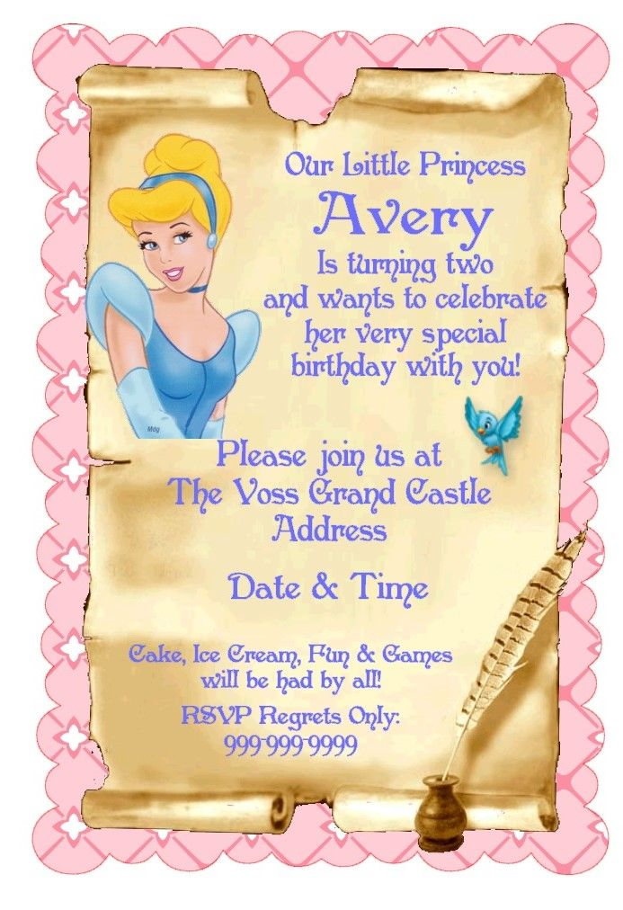 The 25+ best Cinderella party invitations ideas on Pinterest ...