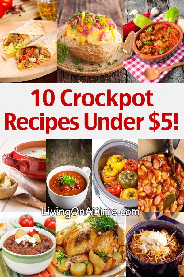 10 Crockpot Recipes Under $5