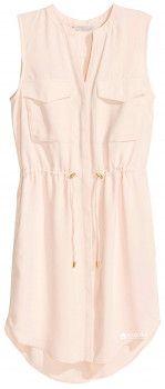 Плаття H&M 3644483-ACUH 34 Блідо-рожеве (2000000662114)
