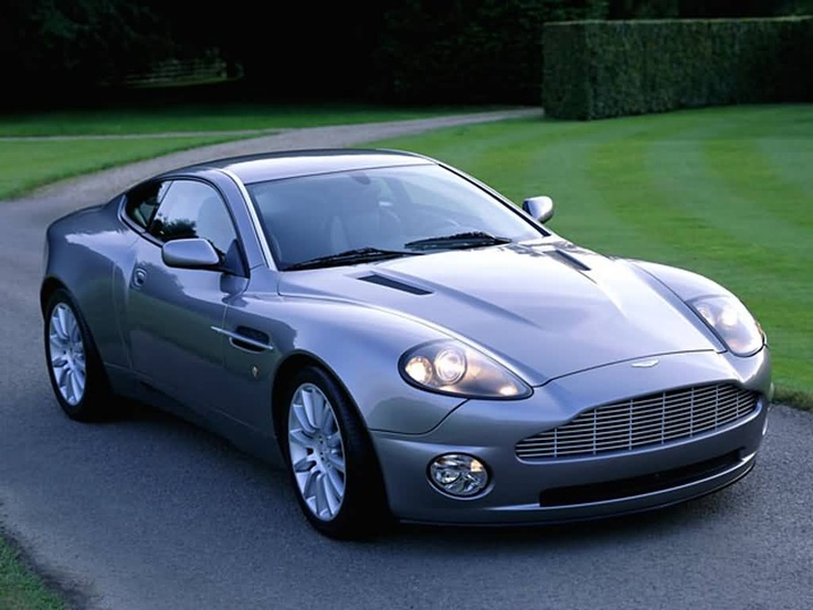 Aston Martin Vanquish (discontinued but that's why it's my dream car)