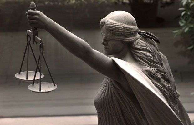 blind justice statue the real one