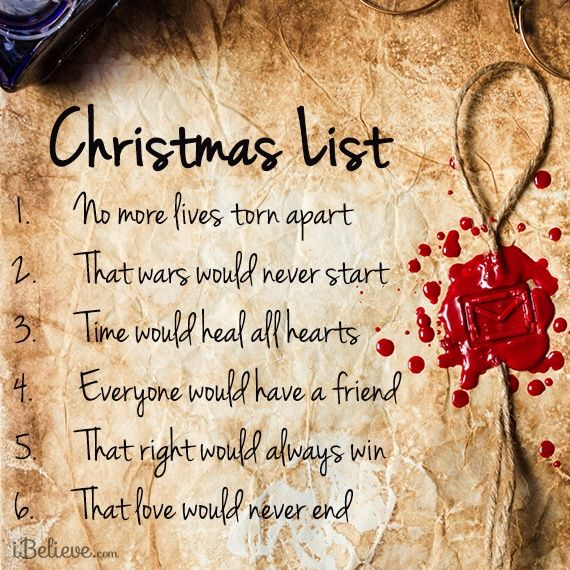 View My Christmas List   Inspirations. Share, Pin And Like Encouragement  For Christian Women.