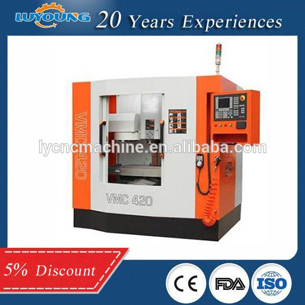Low Cost Small CNC Milling Machine for Sale High Speed VMC420