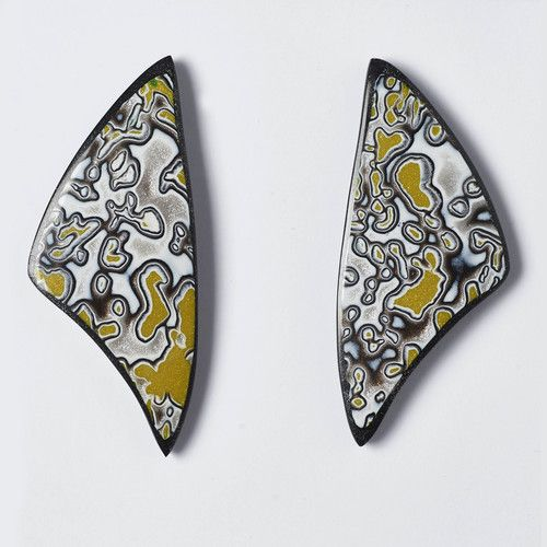 Melanie Muir Grey Goose Wing Earrings.jpg