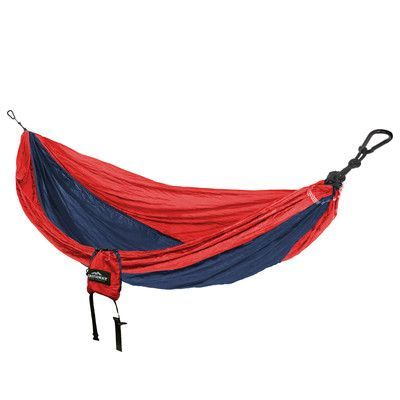 Castaway Hammocks Travel Double Nylon Camping Hammock Color: