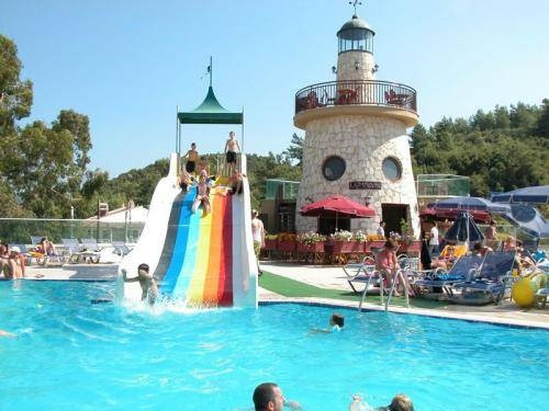 Grand Cettia Hotel Invites Families To Have Fun In A Pool With Waterslides Marmaris Turkey We Are Going Jul