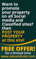 want to promote your property on all social media and classified site? Than post your Property Free http://www.saleandtolet.com/tolet-or-sale-property.php Sale and tolet www.saleandtolet.com/