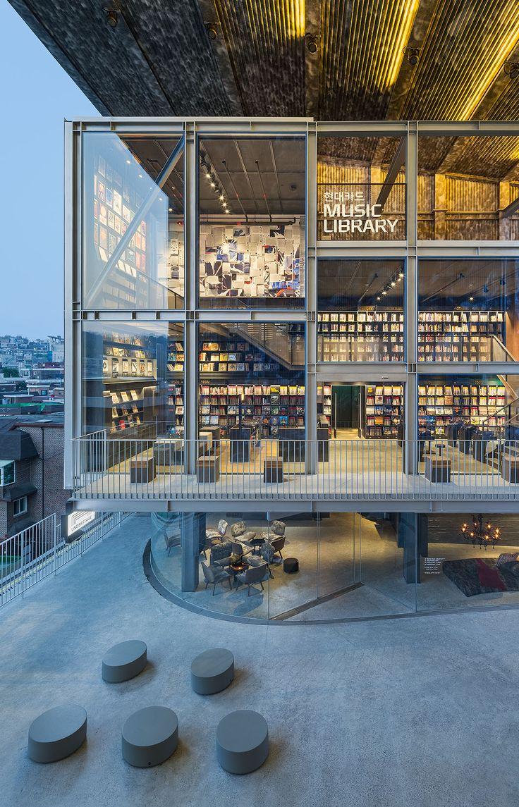 Music library - Seoul by architect Choi moon-gyu