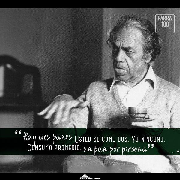 100 años de Nicanor Parra: Descarga aquí postales para Facebook y Twitter vía @elboyaldia