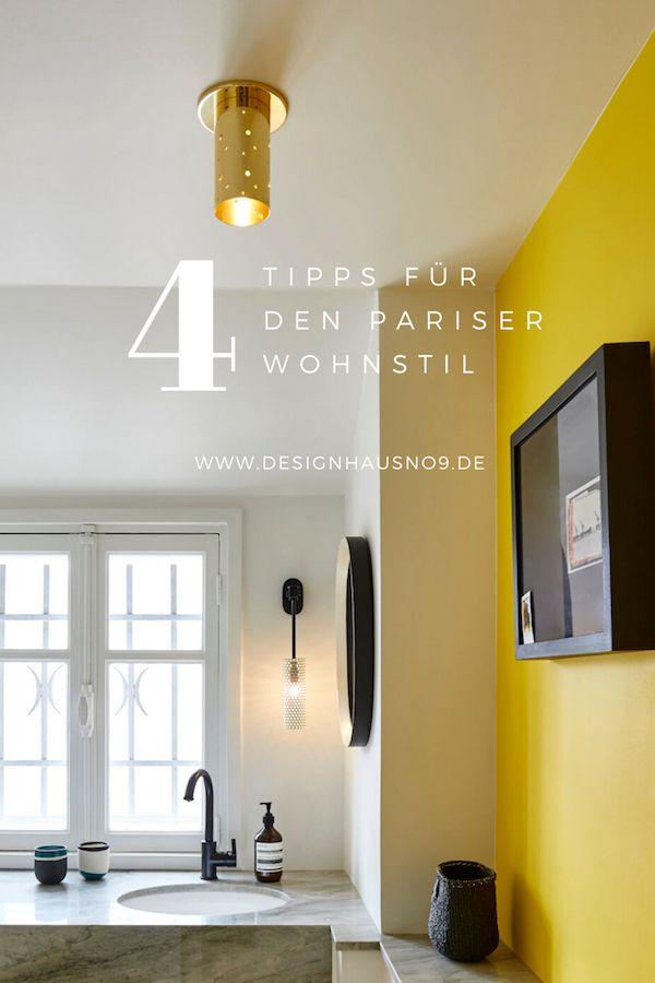 4 Tipps Zum Pariser Wohnstil Und Sarah Lavoines Atelier 1er Neues