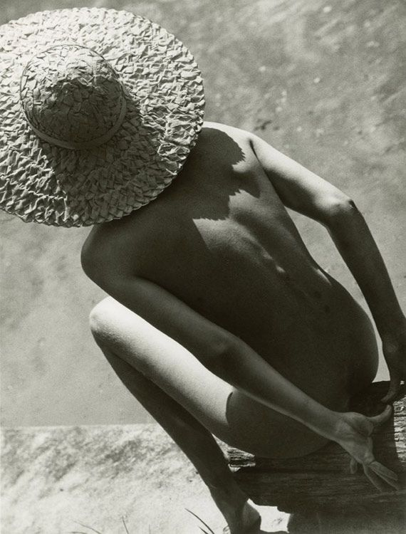 Nude in Straw Hat, 1944