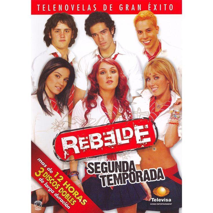 Rebelde: Segunda Temporada [3 Discs]