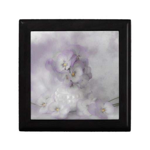 #pansies #pastelpansies #pansy #pansystilllife   #sandrafoster #sandrafosterzazzle #softpansies  #box #jewelrybox