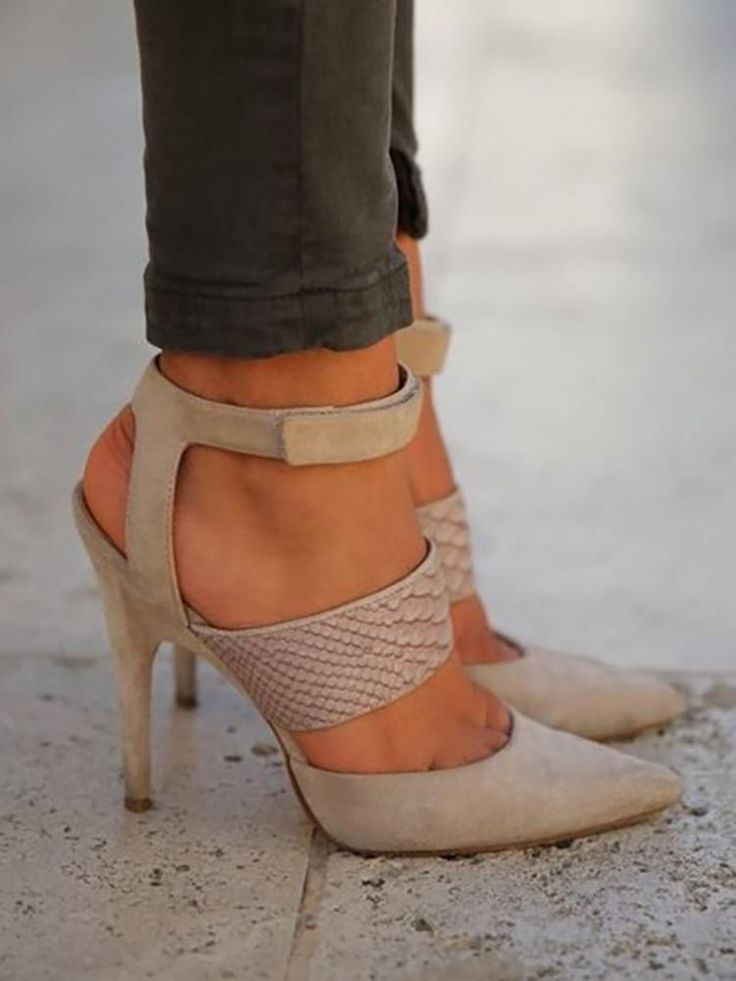 Sexy Hollow Bandage Stiletto High Heels