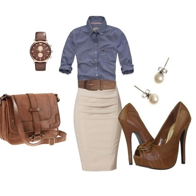 Biz casual and FAB.
