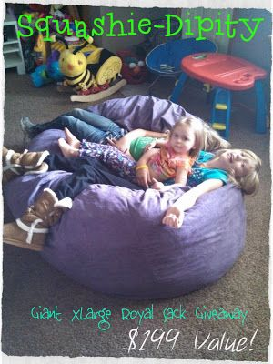 Squashie Dipity Bean Bag Chair Outlet Review And Giveaway