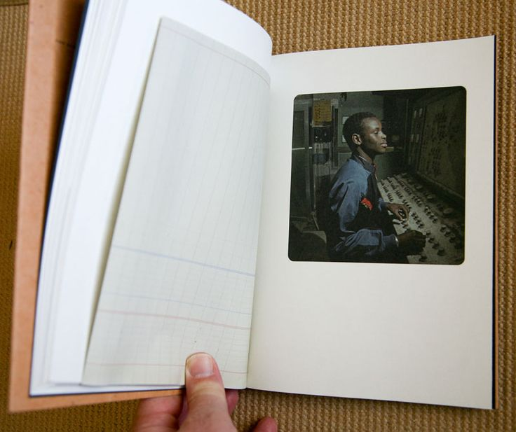 """The PhotoBook (blog) by Douglas Stockdale; posts reviews and commentaries about photographic books """"including contemporary investigations that cover a broad range of photographic projects, series and monographic subjects""""; photo books are presented with cover image and many layout photos plus some text    image from photobook: Cristina de Middel The Afronauts"""