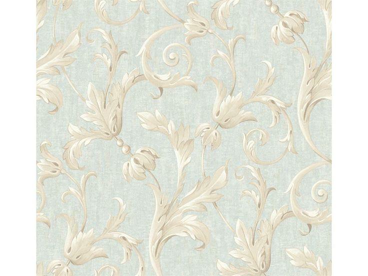 Scroll Vinil Tb11404rulo Salon 68cmx8,20m Mavi - Salon Duvar Kağıdı