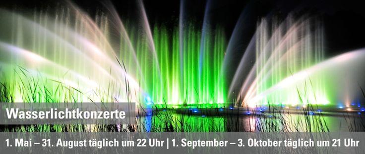 Wasserlichtkonzerte in Planten un Blomen   1. Mai- 31. August täglich um 22 Uhr   1. September bis 3. Oktober täglich um 21 Uhr / Bernd Andresen