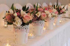 kompozycja na stół weselny - Szukaj w Google