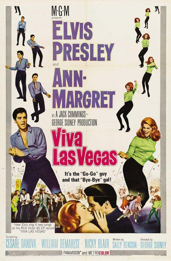 Viva Las Vegas 11x17 Movie Poster (1964)
