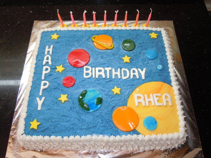 Cake Decorating Ideas Solar System : 52 best images about Cake ideas on Pinterest Cake ideas ...