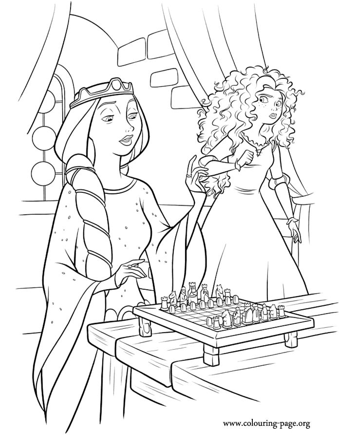 More Brave Coloring Pages