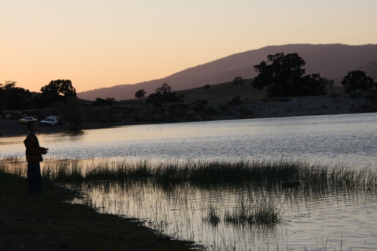 Brite Lake Tehachapi CA