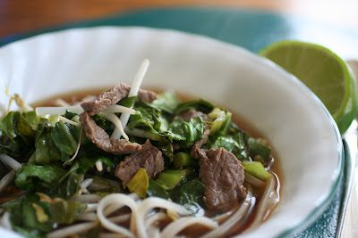 Meal Planning 101: Asian Beef Noodle Soup