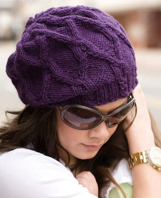 Beret with style