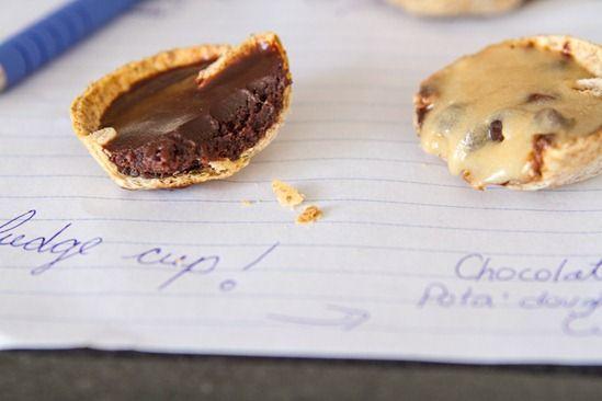 IMG 0406   One Bite Cookie 'n Fudge Cups