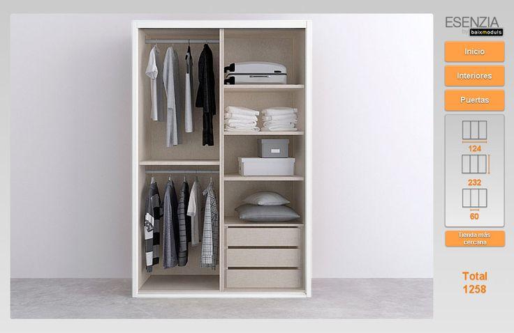 16 best armarios montados images on pinterest armarios for Configurador armarios ikea