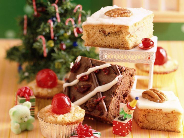 Christmas Traditional Sweets food hd Wallpaper