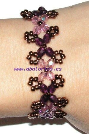Full Tutorial - (translate) Excellent pictures and discussion of steps. #Seed #Bead #Tutorial