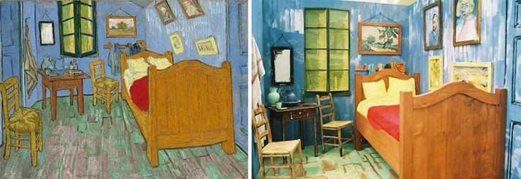 """Remake del dipinto """"Camera da letto"""" di Vincent van Gogh"""