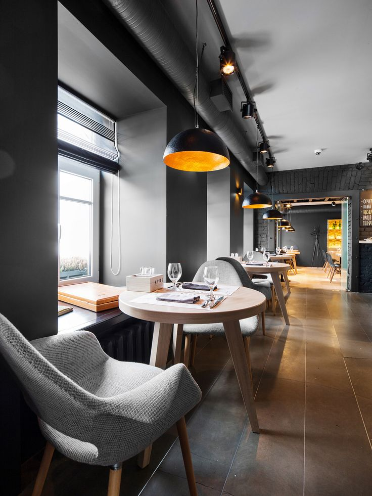 Cafe Brut on Interior Design Served