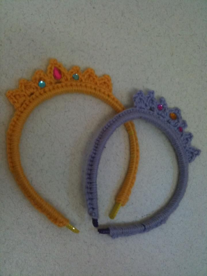 58 Best Crochet Baby Tiaras Crowns Images On Pinterest Crochet