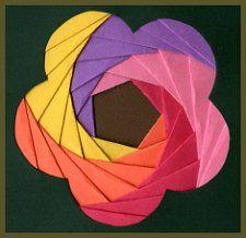 flower inkspired musings: Iris Folding Tutorial