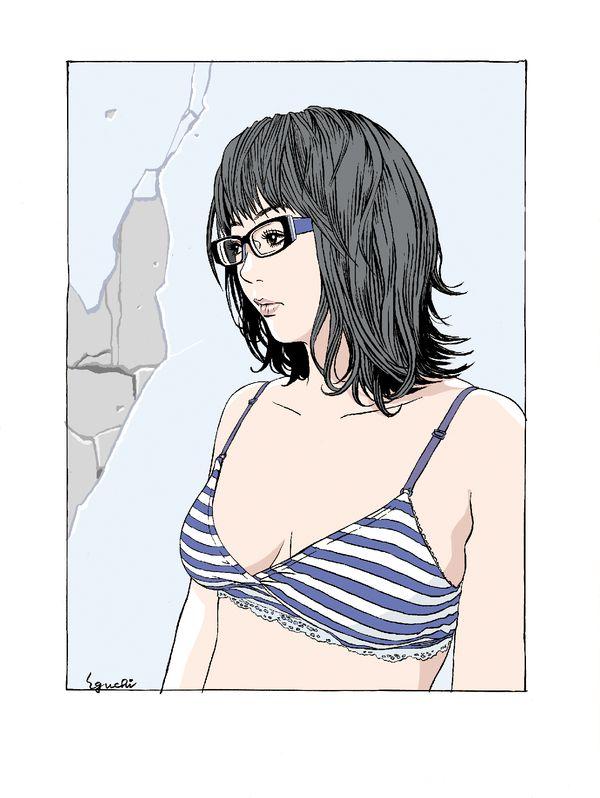 江口寿史の水着画像