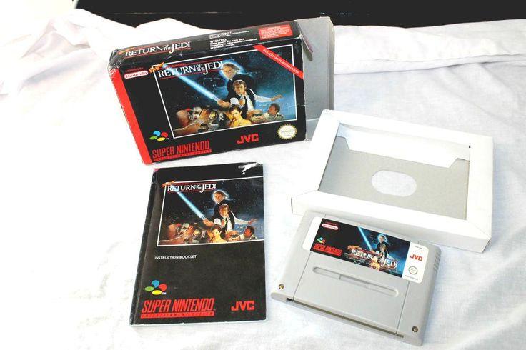 star wars return of jedi  super #nintendo #SNES game collectors nes #n64 from $1.23
