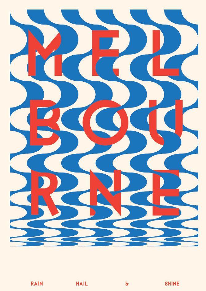 Buamai - Melbourne Poster - V2a