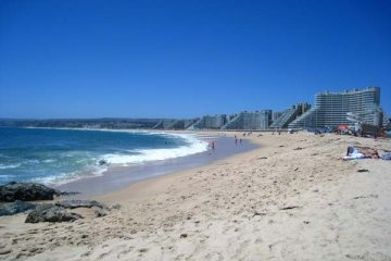 Beach resort in Algarrobo, Chile