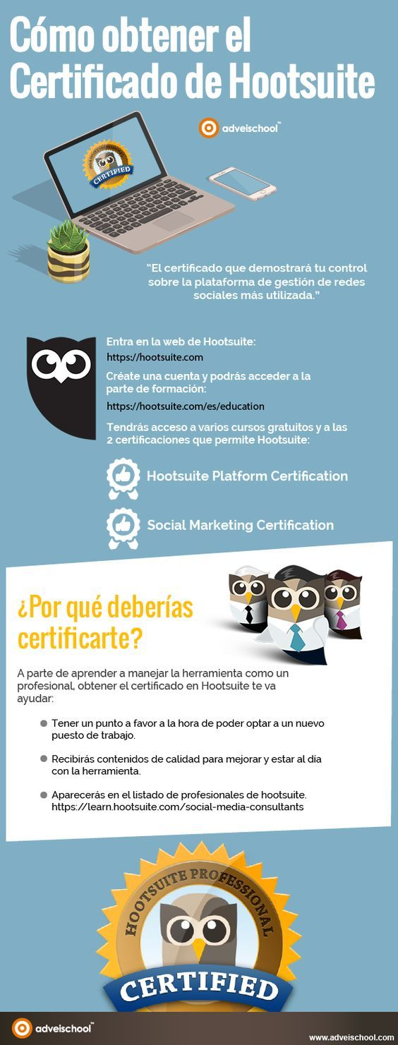 Cómo obtener el Certificado de Hootsuite