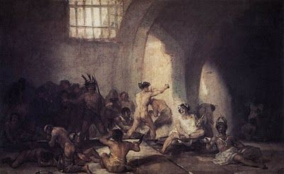 "Goya ""The Madhouse"""