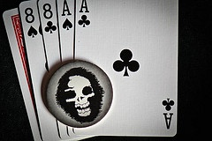 Aces and eights.  The Dead Man's Hand.
