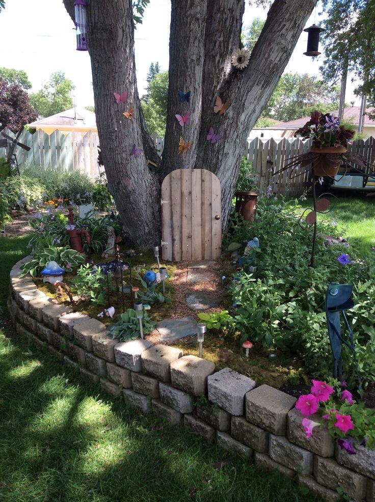 Fairy Lake And Gnome Village Garden
